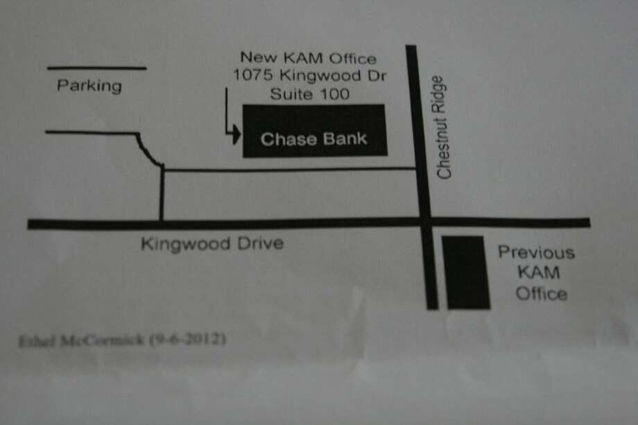 The Kingwood Association Management office recently relocated to a new building in the Chase Bank building near the intersection of Kingwood Drive and Rustic Woods.