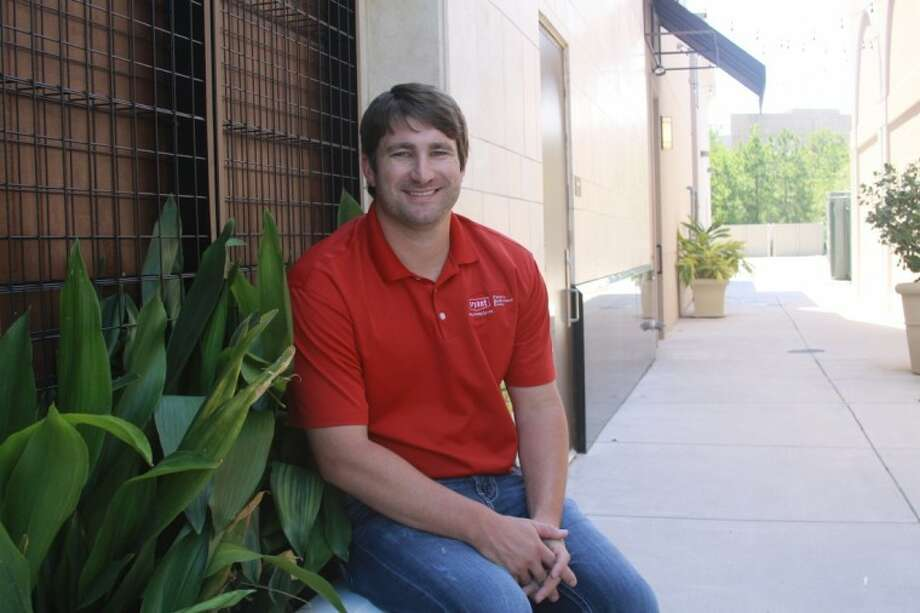 Ben Cox, with Expert Air, says The Woodlands is a great location for his family's air-conditioning business.