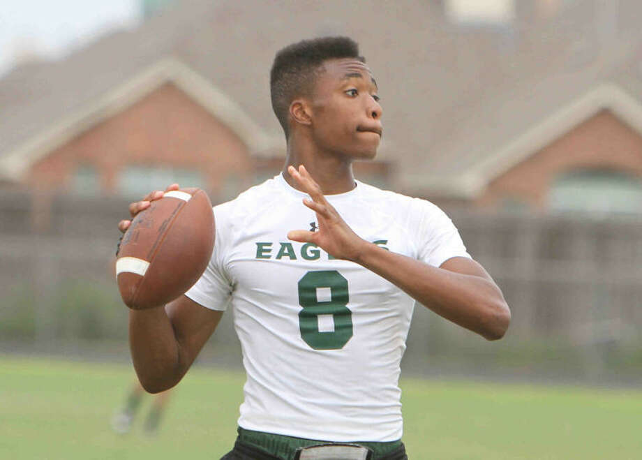 Cy Falls quarterback Nate Dalton is one of a handful of new signal callers this year in CFISD. Photo: Jason Fochtman