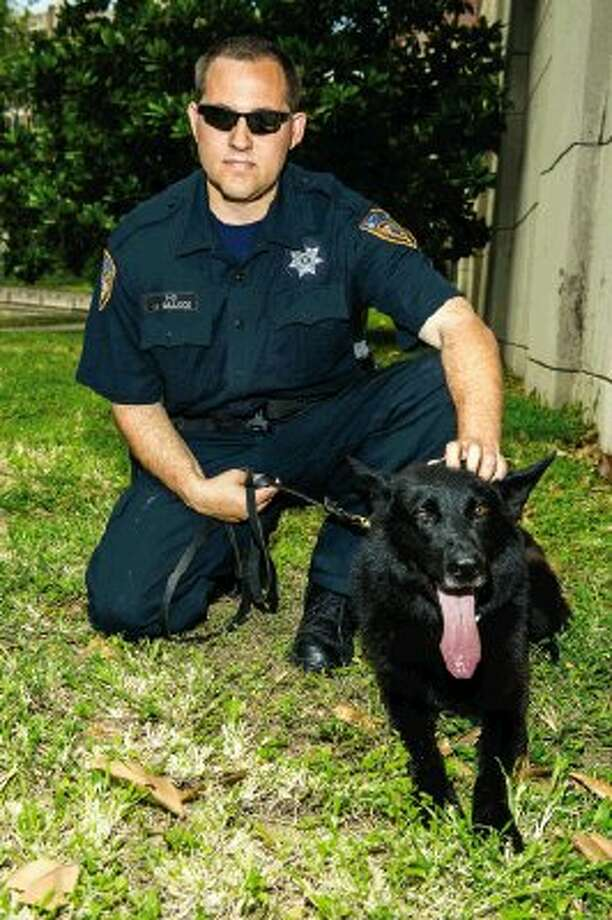 K-9 Tommy and HCSO Deputy Jason Bullock. / © Copyright PWL Studio