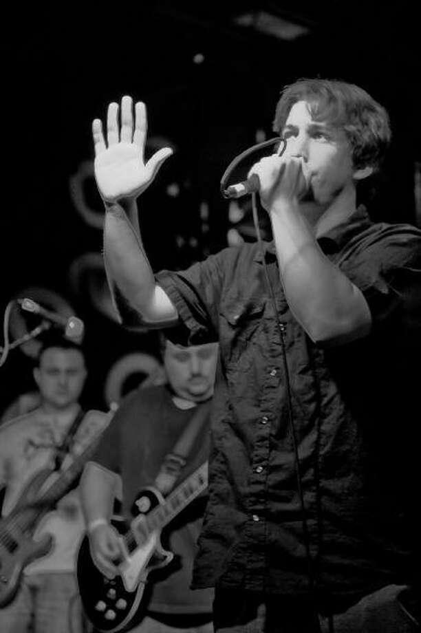 Fallen Grey vocalist Matt Babin.