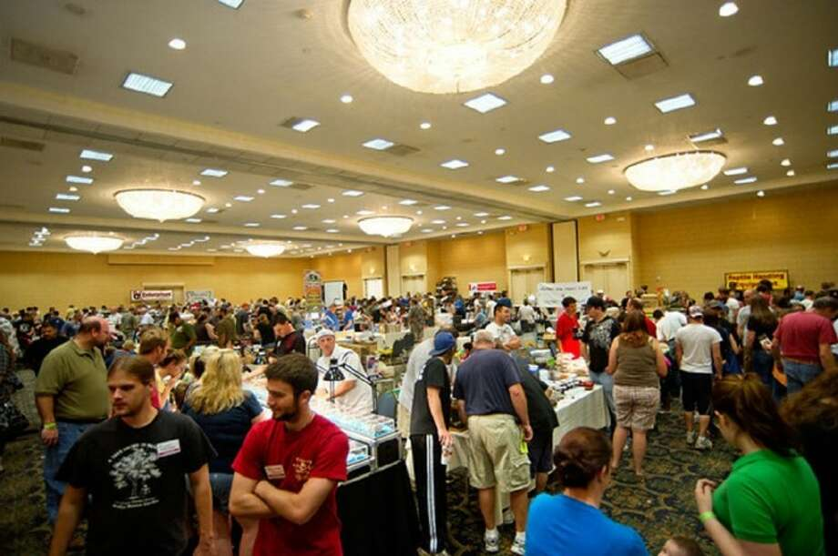 The East Texas Herpetological Society Conference will return to Houston Sept. 29 - 30 at the Brookhollow Crowne Plaza, 12801 Northwest Freeway. A free educational exhibit is open to the public Sept. 30, featuring hourly live presentations with question and answer sessions.