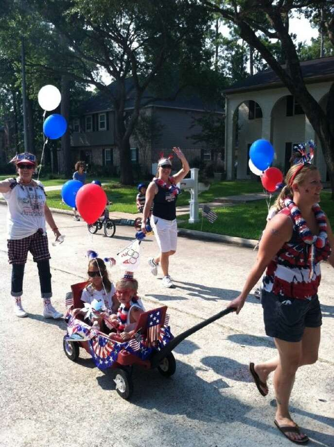 The Annual Lakewood Forest 4th of July Parade was held Thursday morning, led by the Cypress Creek Fire Department and ending at Moore Elementary School. Photo: Cy Creek Mirror