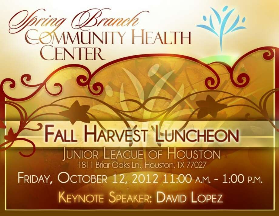 Spring Branch Community Health Center plans Fall Harvest Luncheon