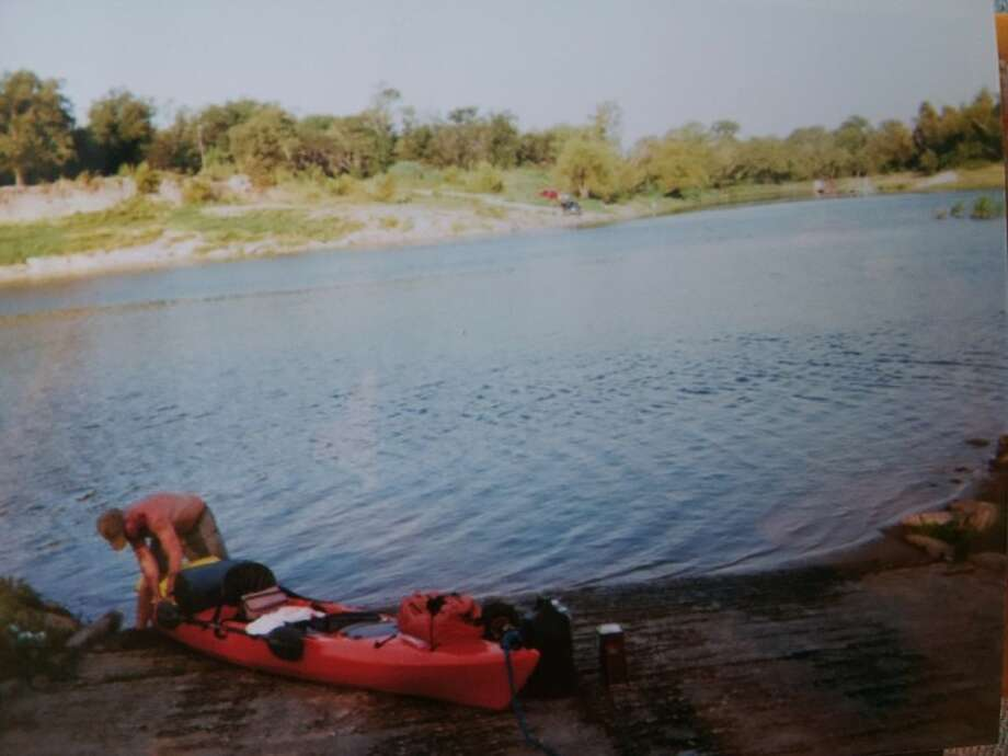 Greg Barrington, a kayaking enthusiast from Austin, recently took a trip down the Trinity River from Livingston to Liberty. During the three-day-long trip, he saw a lot of the natural landscape and talked to people he met along the way. Photo: Submitted Photo