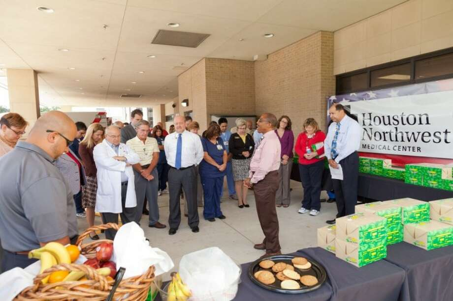 Houston Northwest Medical Center honors first responders with an appreciation event held on national Patriot Day, Sept. 11.