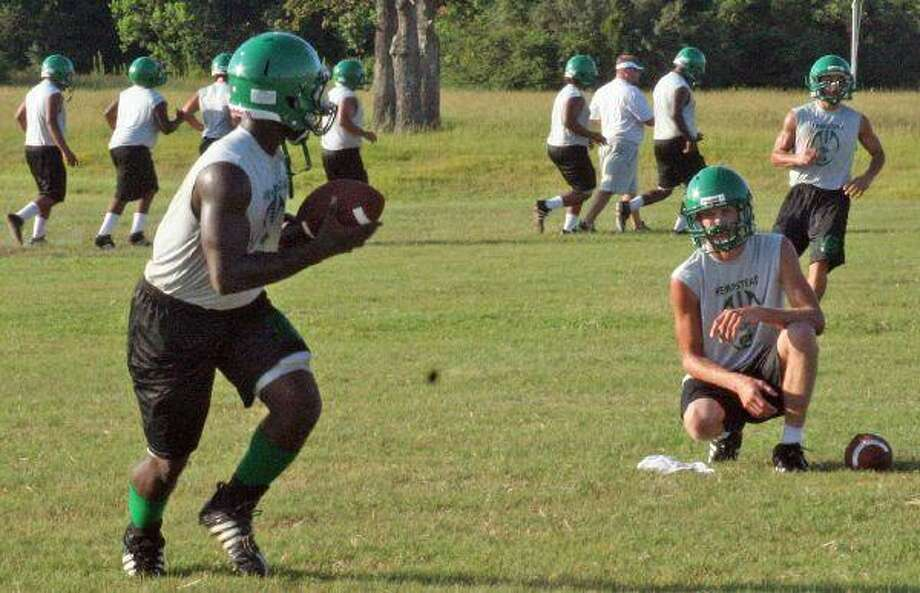 "The Hempstead Bobcats have been working hard during two-a-days to get ready for the 2010 football season. Come out and ""Meet the Bobcats"" on Friday, Aug. 13, at Bobcat Stadium. The event, sponsored by the Hempstead Athletic Booster Club, will kick off at 7 p.m. Hamburgers, chips, and cold drinks will be provided free of charge to all who attend."