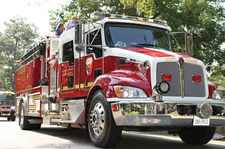 New Caney and Porter Fire Departments were among those organizations present at the annual July 4 celebration held in Roman Forest. Photo: Submitted Photo