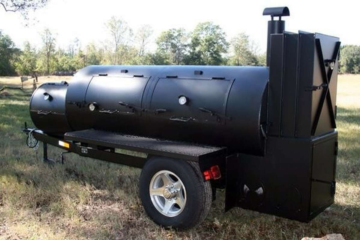 A custom-made BBQ trailer was reported stolen and later discovered and returned to Killen's Steakhouse over the weekend. The trailer was not returned in pristine condition. Two temperature gauges were found to be missing from the doors and the trailer wheels had been painted black. The thieves also stole the firewood stored in the word rack and it appeared the pit itself had been painted. Police officials say the case remains open and detectives are working to track down potential suspects. Anyone with information is asked to call the Pearland Police Department at 281-997-4100. Callers can remain anonymous.