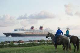 The Disney Magic arrived in Galveston Saturday.