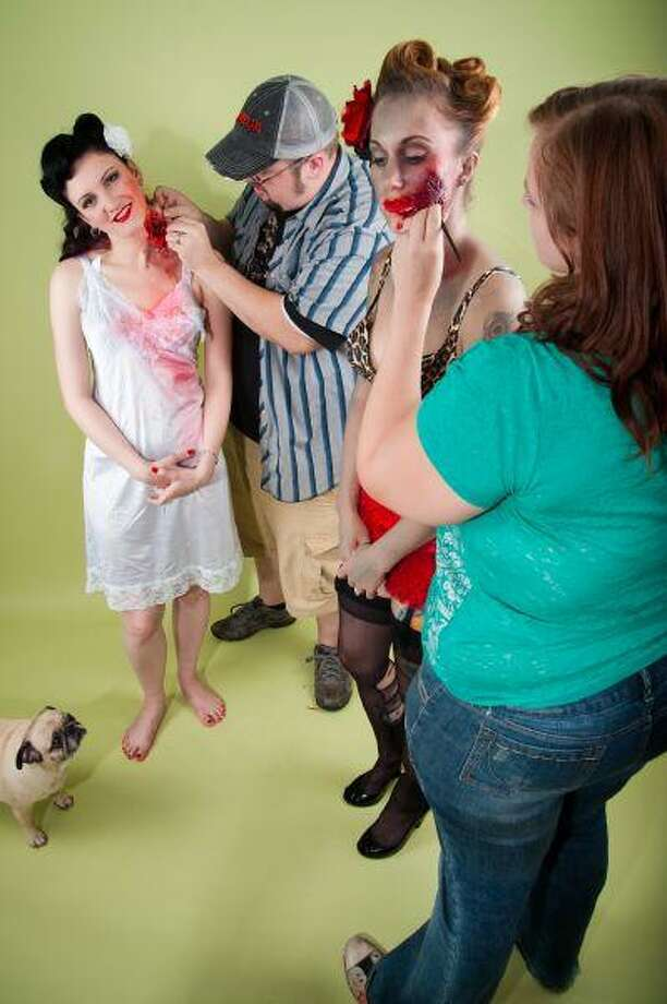 Couple's special effects, movie makeup work spawn company