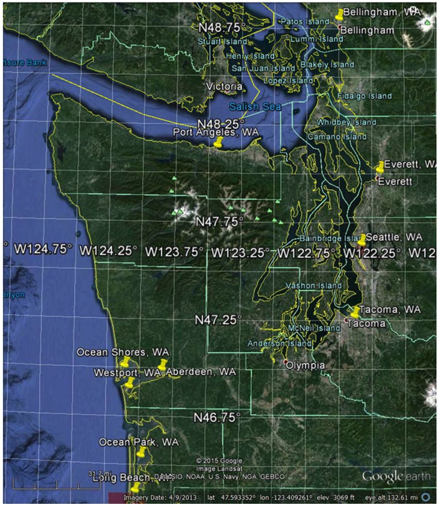Capitol Honda Service >> Pacific coast tsunami risk maps - seattlepi.com