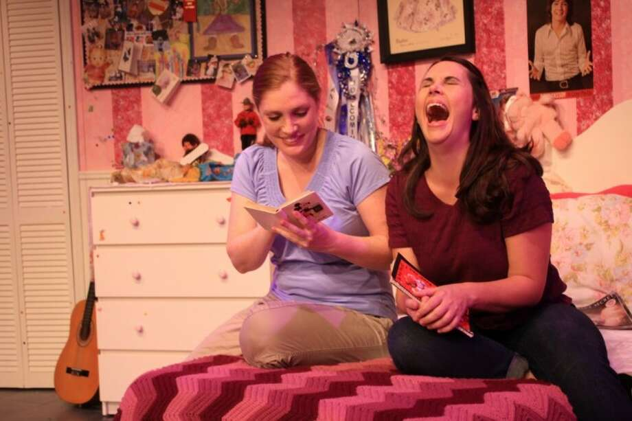 """""""Girls Only"""" features two Houston actresses, Tracy Ahern and Keri Henson, both of whom are the mothers of young children."""
