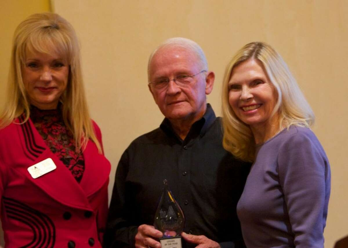 Ed Chance was named Citizen of the Year at the South Montgomery County Chamber of Commerce Annual Awards Luncheon at The Woodlands Waterway Marriott last week.