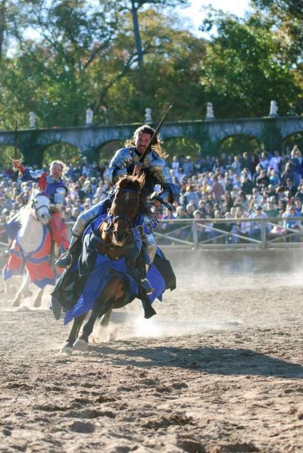 Visitors to the Texas Renaissance Festival, held weekends and Thanksgiving Friday beginning Oct. 12 through Dec. 1, will immerse themselves in a kingdom filled with folklore, artisans, entertainment, feasting and jousting.
