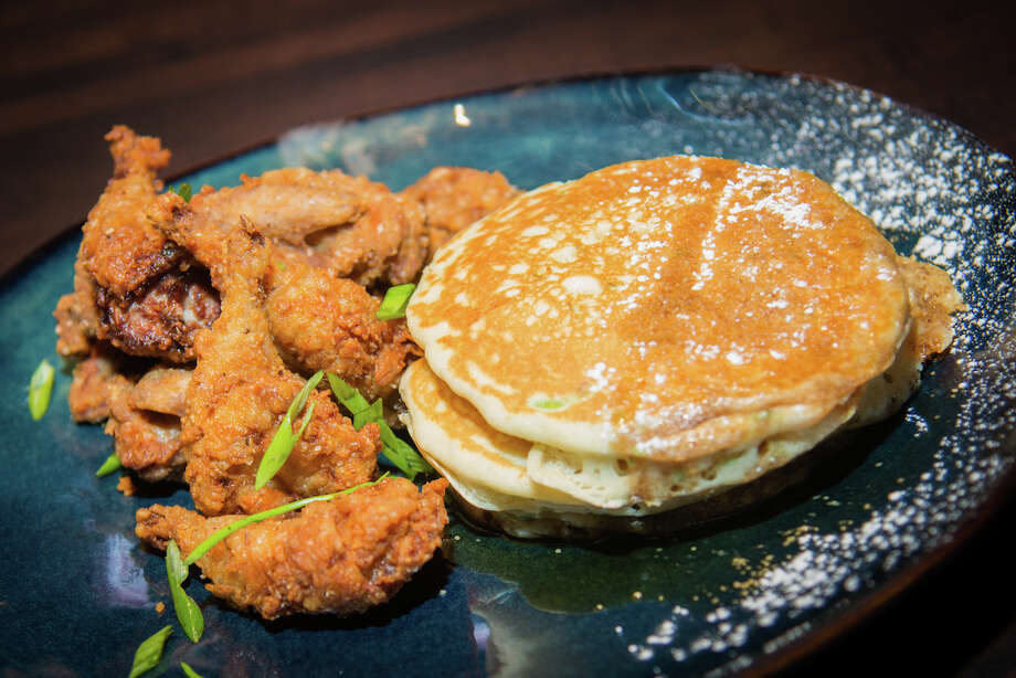 Crispy quail and hot cakes at The General Public.