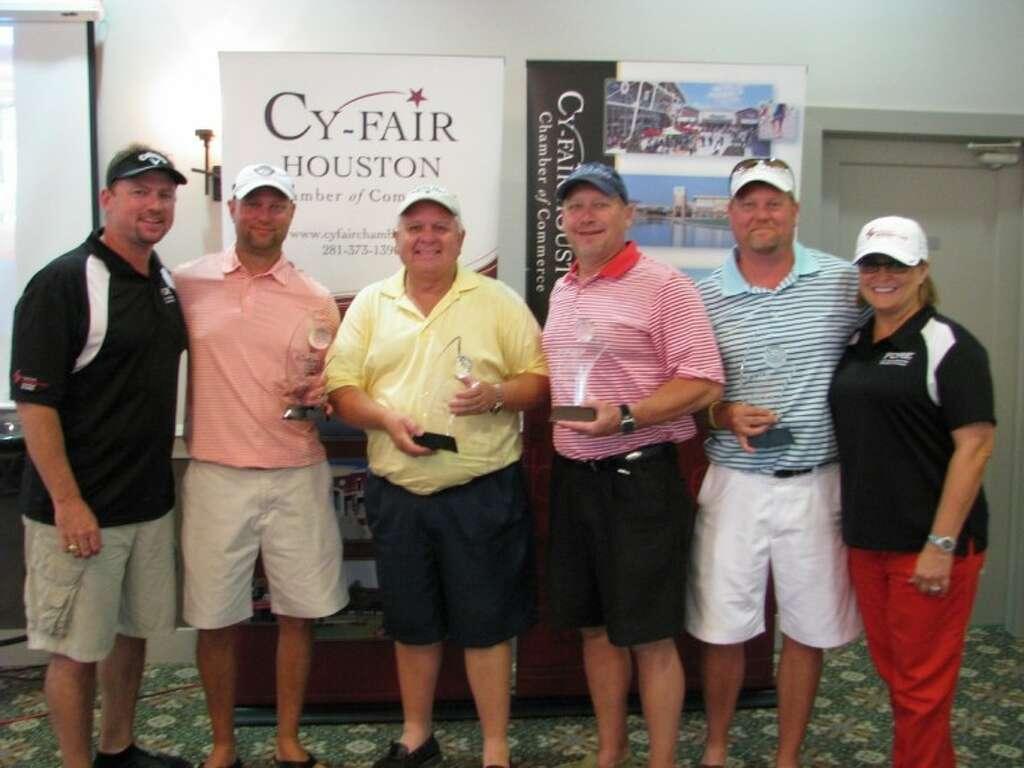 cy fair chamber u0027s golf tourney supports scholarship houston
