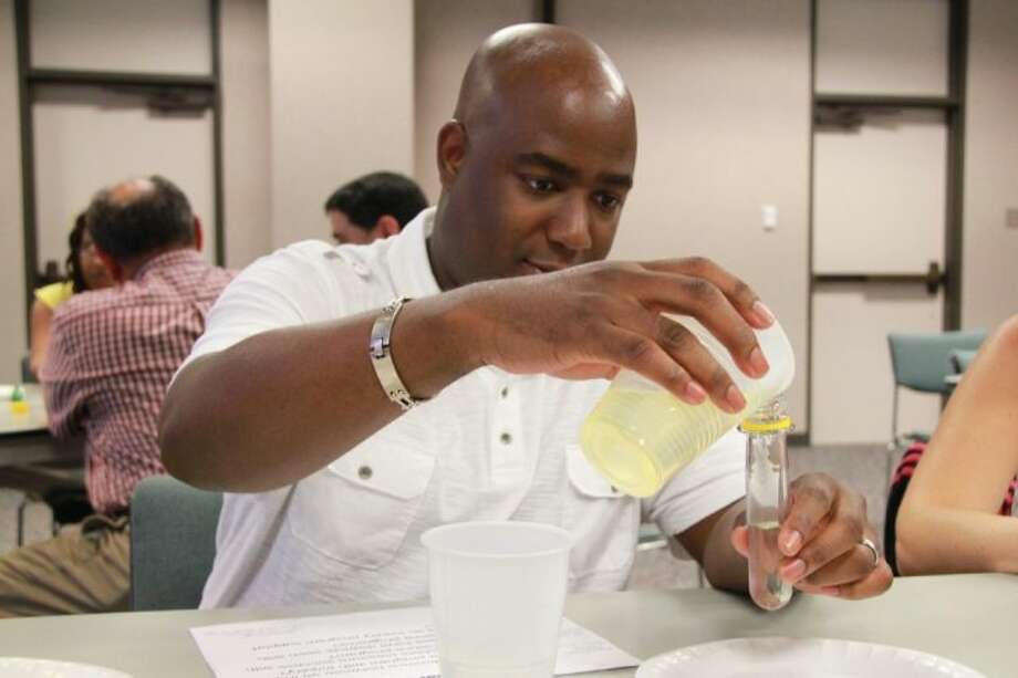 Teachers gain a better understanding of the chemical industry and area chemical plants through a summer workshop hosted by Harris County Department of Education sponsored by the Texas Chemical Council.