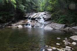The first falls on Tenant Creek near Hope. (Herb Terns / Times Union)