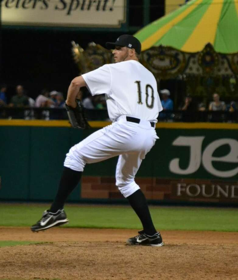 Former Cypress Falls pitcher Clint Everts now plays for the Sugar Land Skeeters Photo: Sugar Land Skeeters