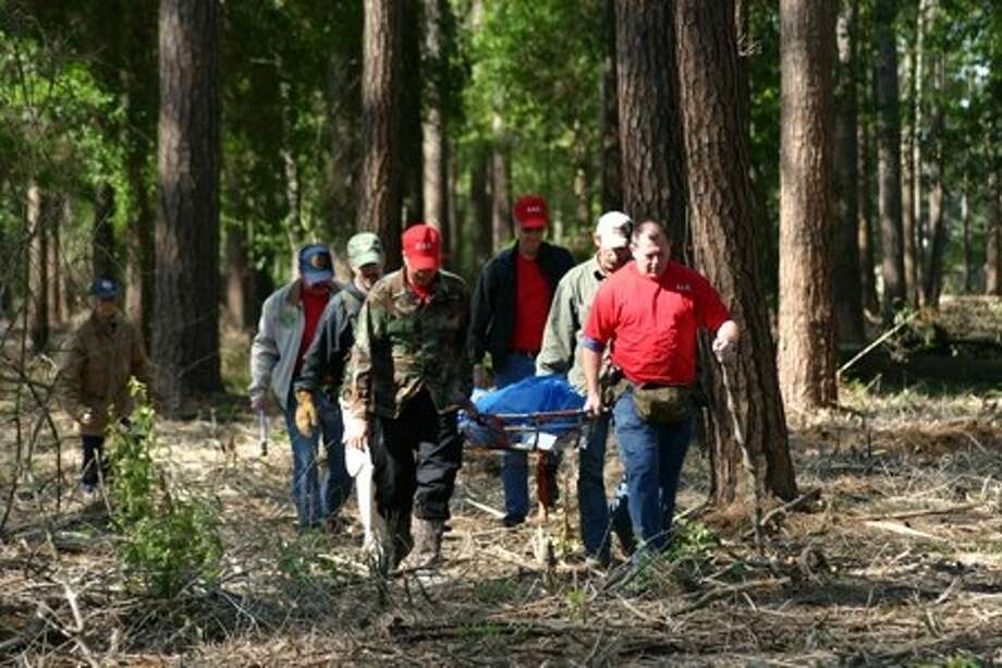 The Montgomery County Search and Rescue Team will hold its annual barbecue fundraiser on Saturday from 11 a.m. to 3 p.m. at the West Montgomery County Community Building. The group of professionally trained volunteers work with local law enforcement to help in various situations. Photo: Submitted