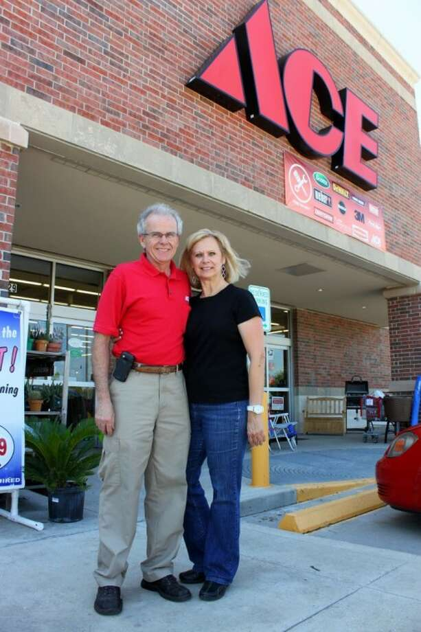 Chuck and Arlene O'Malley, owners of Langham Creek Ace Hardware, will celebrate their 5th year of business in December.