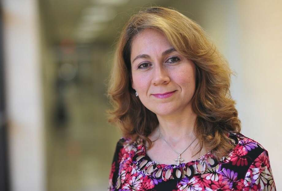 San Jacinto College Jacinto college preparatory reading and writing professor Myrna Gonzalez says America has great opportunities to celebrate cultural diversity and learn from one another. Photo: ROB VANYA