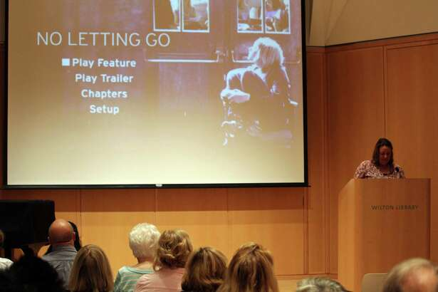 Wilton Library hosted a free screening of the award-winning feature film, 'No Letting Go,' on Thursday, Sept. 29, 2016.