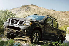 Equally at home on the highway or on the trail is the 2016 Nissan Frontier Pro-4X, which comes equipped with off-road tires and a capable shift-on-the-fly four-wheel-drive system with low-range gearing. It comes with a 4.0-liter V-6 engine and a five-speed automatic transmission.