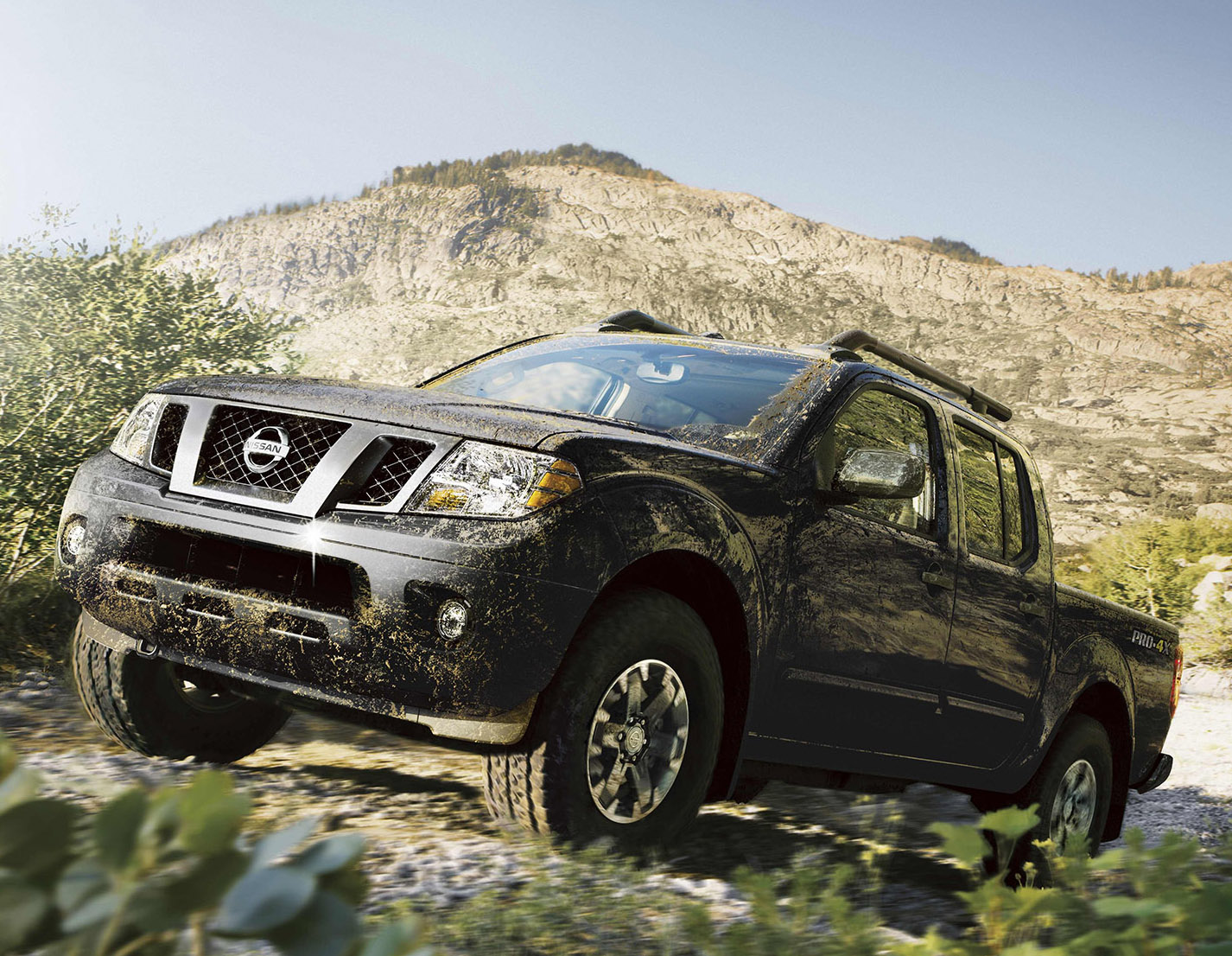 Nissan's Frontier Pro-4X has what off-road explorer needs