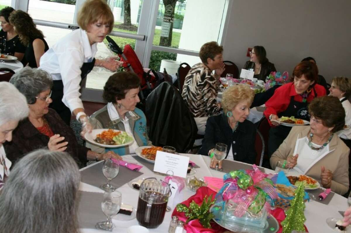 At the Kingwood Women's Holiday Marketplace, guests have the option to purchase lunch tickets where they will be treated with Carrabba's Italian food and served by volunteers with the Kingwood Women's club Oct. 23. The tickets for lunch must be purchased beforehand.