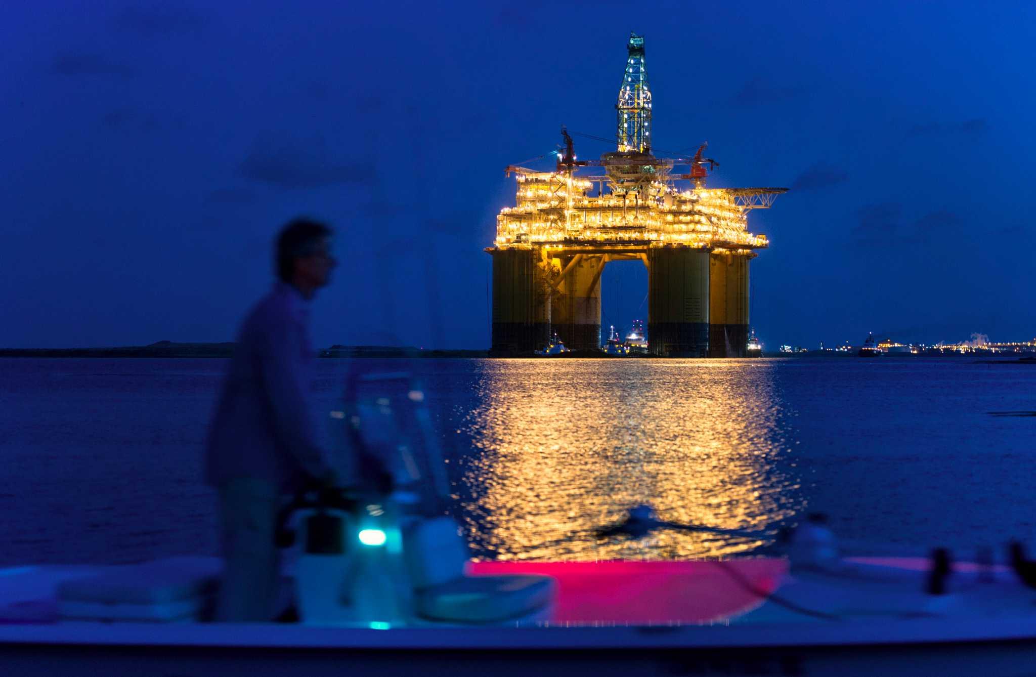 Big Oil evacuates Gulf platforms as disturbance strengthens