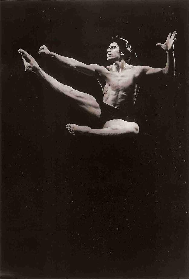 "Edward Villella, shown in ""Prodigal Son,"" will converse onstage. Photo: Courtesy Of Edward Villella"