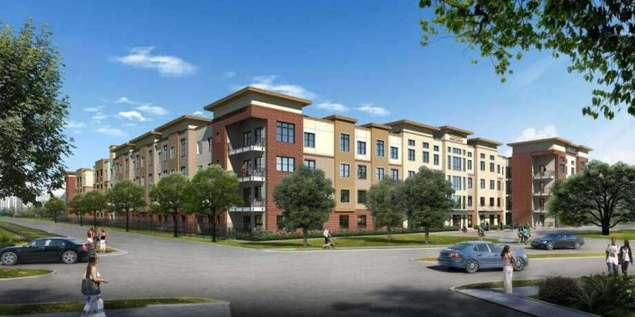 Rendering of the Alexan Enclave in West Houston.