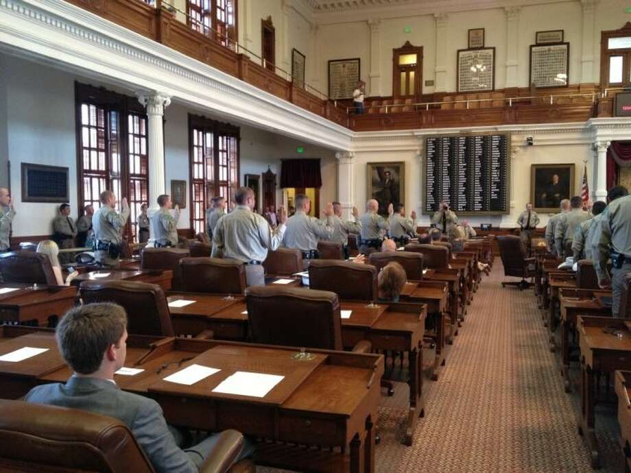The 58th Game Warden class graduated in ceremonies Tuesday, Aug. 6, in the House of Representatives chamber at the Capitol in Austin.