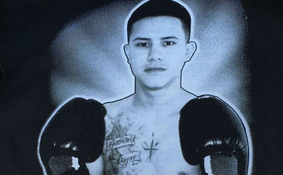 """Joey Pesina Moreno was former Golden Gloves boxer who trained with Joe Lopez, who also trained Robert Quiroga. Pesina Moreno, nicknamed """"El Ganchito,"""" which means """"The Hook,"""" was killed in a motorcycle accident in September 2016. Photo: Courtesy Photo"""