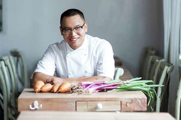 James Beard Award winning chef Justin Yu of Oxheart.