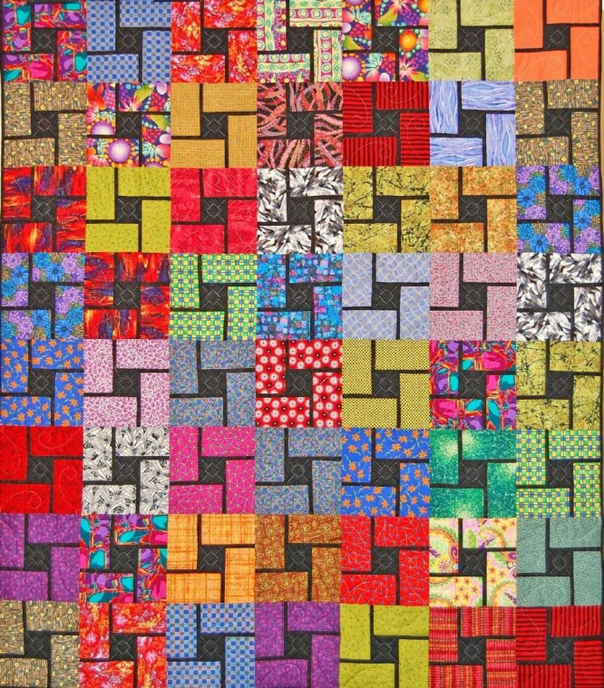 Cogs, one of the quilts to be auctioned at the Texas Mennonite Sale & Auction for World Relief on Nov. 10.