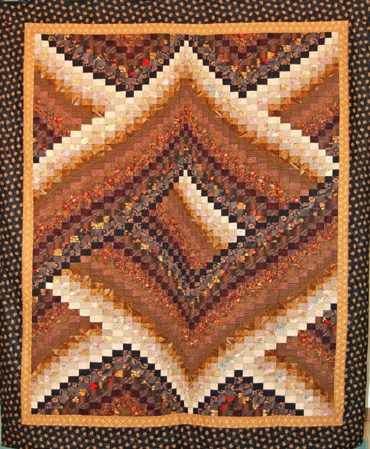 Galaxy Bargello, one of the quilts that will be auctioned at the Texas Mennonite Sale & Auction for World Relief on Nov. 10.
