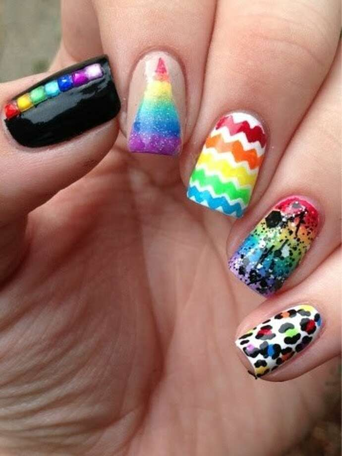 Seventeen magazine features Summerwood girl\'s nail art - Houston ...