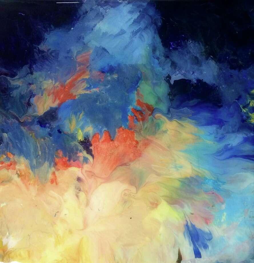 "Houston artist Salli Babbitt will be showing her work, including ""Coraline's Garden,"" at the free Fall Biannual Art Opening Saturday at Sawyer Yards. Photo: Salli Babbitt"