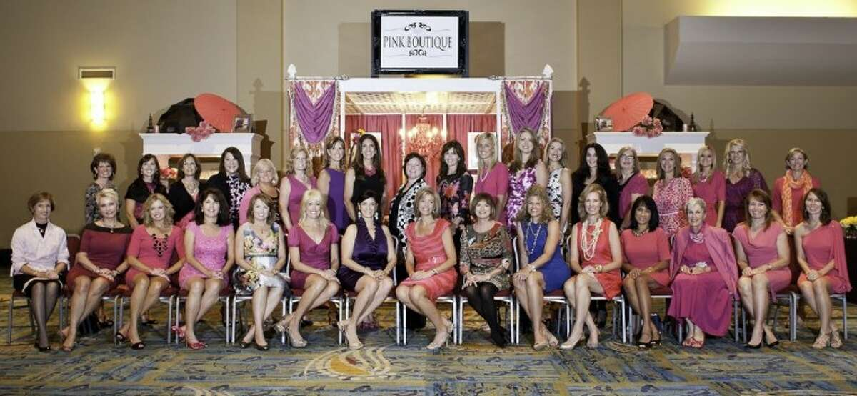 The organizing committee for the Memorial Hermann In the Pink of Health Luncheon.
