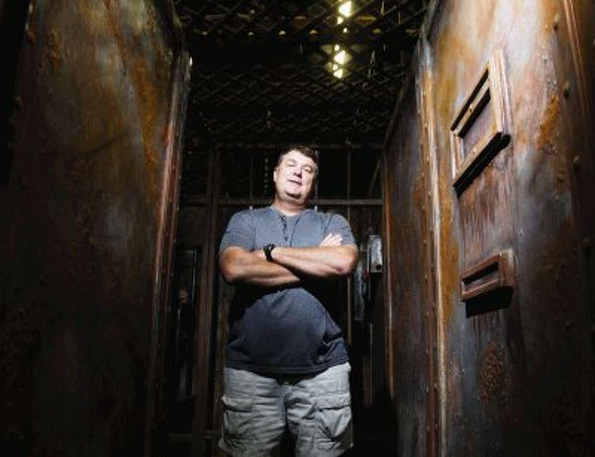 The Woodlands resident Jim Fetterly said he loves developing new scare tactics for ScreamWorld.