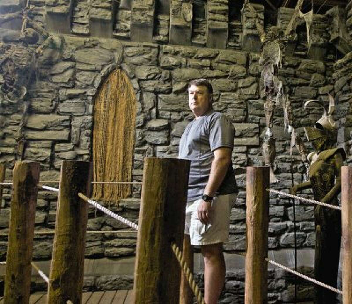 The Woodlands resident Jim Fetterly spares no expense in creating sets and props for the attractions at ScreamWorld.