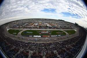 FORT WORTH, TX - NOVEMBER 03:  A general view during the NASCAR Sprint Cup Series AAA Texas 500 at Texas Motor Speedway on November 3, 2013 in Fort Worth, Texas.  (Photo by Todd Warshaw/NASCAR via Getty Images)
