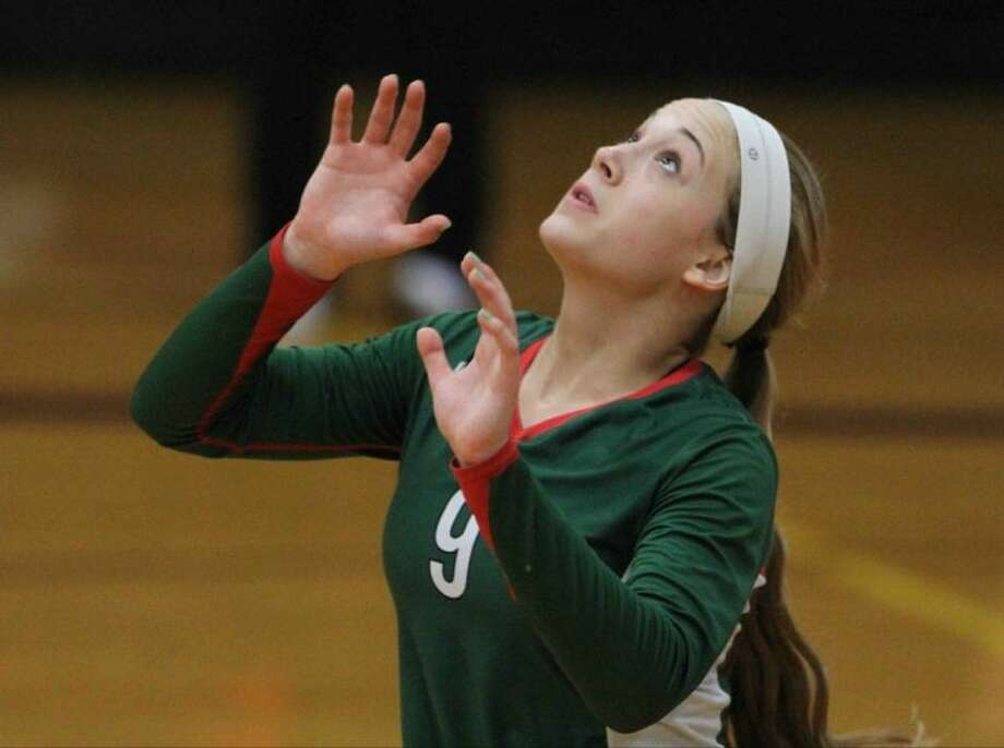 The Woodlands' Courtney Eckenrode was named MaxPreps Player of the Year.