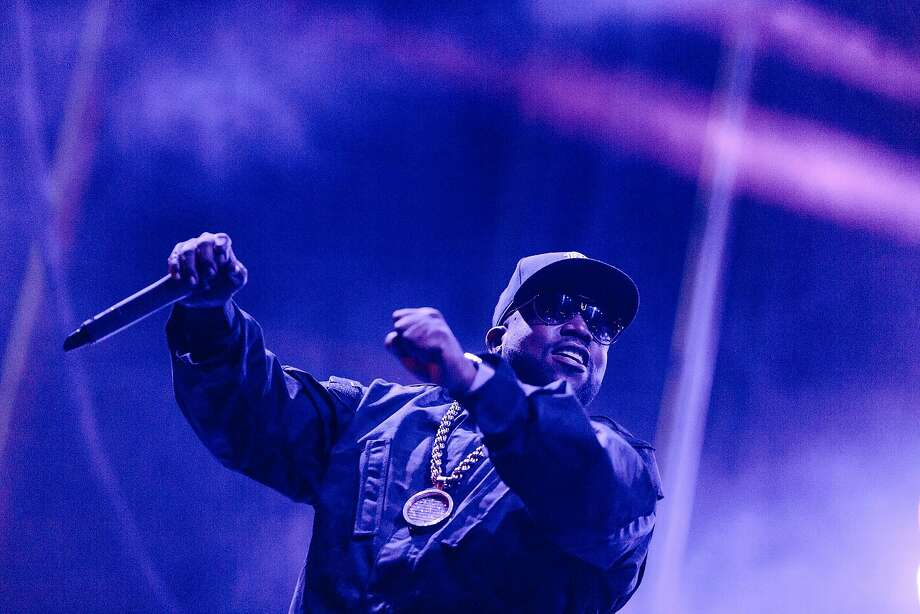 Big Boi performs at Treasure Island Music Festival in San Francisco in October 2017. Photo: Jason Henry, Special To The Chronicle