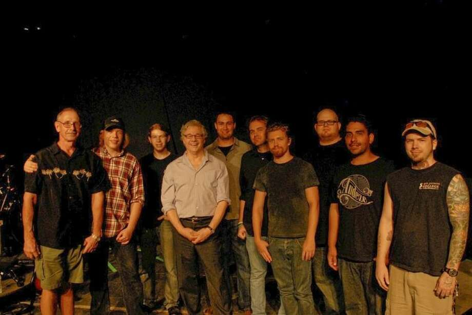 Pictured, (from left to right), are Les Williams, Zachary Williams, Byron Williams, Steve Miller, Aaron Villaneuva, Thomas Groves, Mitchell Hearn, Walter Donaldson, Nick Koukoulakis, and Ryan Heffernan.