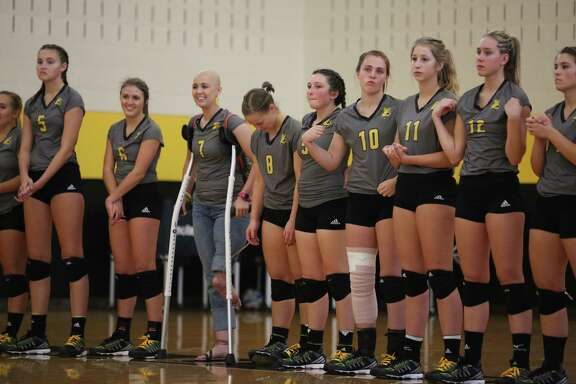 Former Texas Lutheran University volleyball player Jillian Williams is battling cancer and underwent an extraordinary surgery amputated her leg and attached her ankle and foot backward to serve as a workable joint for a future prosthetic. Williams is not enrolled in school this year and so she is not technically a part of the official Bulldogs team this year. But she has joined the team on the bench for a few matches this season.