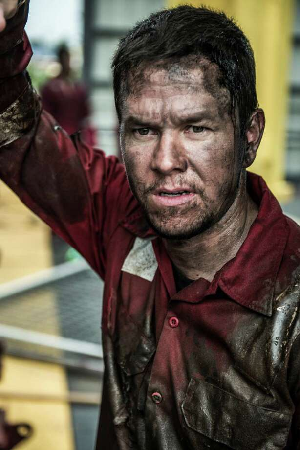 "Mark Wahlberg stars as oil rig worker Mike Williams in ""Deepwater Horizon,"" which opens in September. Photo: David Lee"